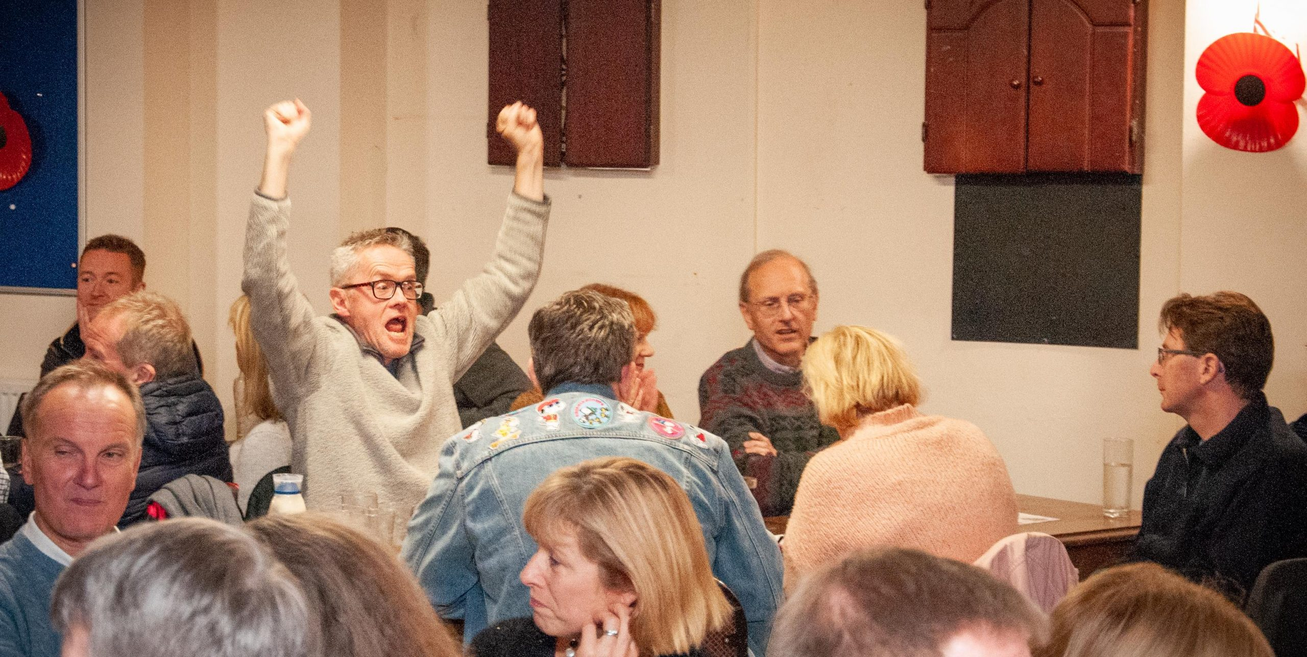 Quiz n Chips: The Total raised was…
